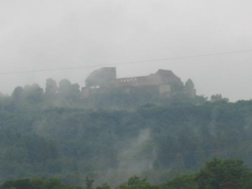 Giechburg im Nebel